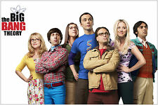 The Big Bang Theory TV Show Cast Poster Art Print 91x61 cm