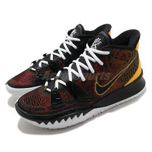 Nike Kyrie 7 EP VII Irving Rayguns Black Yellow Men Basketball Shoes CQ9327-003