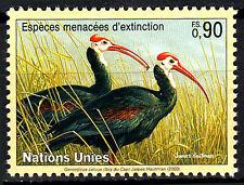 Uno Vereinte Nationen postfrisch Ibis Löffler Vogel Wildtier Natur / 237