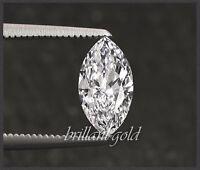 Diamant im Navette Schliff von 0,10-0,25ct echt & natürlich mit Zertifikat