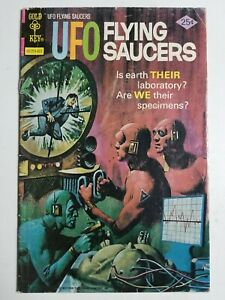UFO Flying Saucers (1968) #9 - Very Good