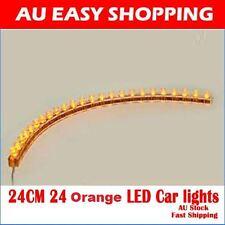 4X 24CM 24 Orange LED Car lights 12 V - Flexible Neon Strip LED Lights A