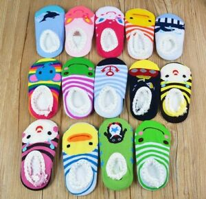1 Pair Baby Kids Invisible Non-slip Ankle No Show Cotton Socks Low Cut Hot