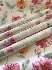 laura ashley wallpaper Dahlia Parade, Pink Grapefruit Same Batch Price Per Roll