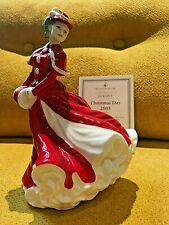 More details for rare royal doulton christmas day 2003 figurine hn4552 by valerie annand