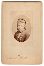 RARE Photograph Signed by Nellie Grant - Only Daughter of Ulysses S. Grant