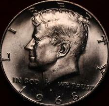 Uncirculated 1968-D Denver Mint Silver Kennedy Half