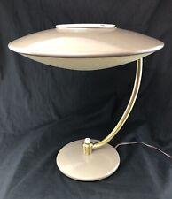 Vintage Dazor Desk Lamp Light #2003 Mid Century Space Ship Retro 50's UFO V/NICE