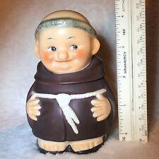 Vintage Goebel Friar Tuck Sugar Bowl Container Germany Excellent