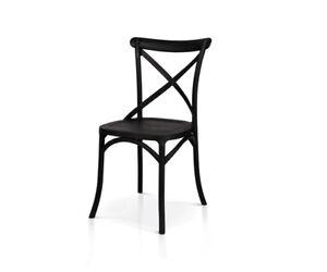Chair Polypropylene, Various Colors - 2 Pieces