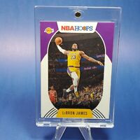 2020-2021 PANINI Lebron James LAKERS INSERT CARD - MINT/NM -INVESTMENT -w/ CASE