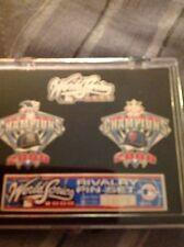 Ny Yankees Limited Edition World Series 2000 Rivalry Pin Set