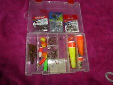 Small Tackle Box Filled With Mixed Fishing gear