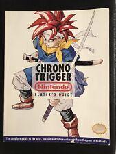 Chrono Trigger Nintendo Player's Guide RARE - Very Good Condition  NEVER READ