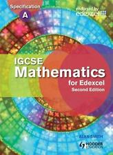 IGCSE Mathematics for Edexcel by Alan Smith (2011, Mixed Media, with cd,...
