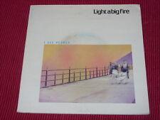 """Light A Big Fire:  I See People   UK  Near Mint    2X7"""""""