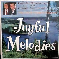 Carl E. Olivebring and Goran Stenlund Joyful Melodies Gospel Music LP Album