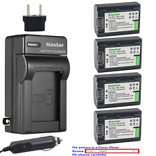 Kastar Battery AC Charger for Sony NP-FV50 & Sony DCR-SX15 DCR-SX20 DCR-SX21
