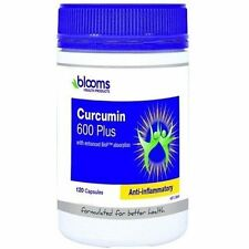 Blooms Health Products Curcumin 600 Plus 120 Capsules