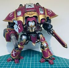 Painted Warhammer 40k Imperial Knight Titan