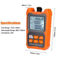 Mini Ftth Fiber Optic Optical Power Meter Cable Tester Backlight 706 Dbm Z6k6