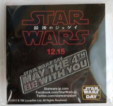 Star Wars Day Pins MAY THE 4TH BE WITH YOU DISNEY STORE 2017 Limited JAPAN