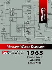 1965 Ford MUSTANG - PRO Wiring Diagram Manual (Large Format/Exploded View)