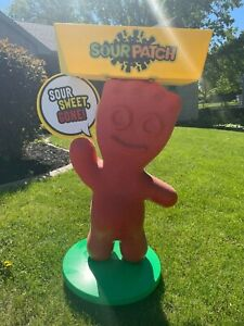 Rare Sour Patch Kids Store Display with candy rack