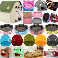 Large Pet Dog Cat Bed Puppy Cushion Soft Warm Kennel Mat Blanket Washable Lot