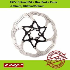 TRP TRP-13 Disc Brake Rotor 2 PIECE DESIGN For MTB & Road Bike-160mm/180mm/203mm