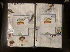 Set 2 Pottery Barn Kids Nwt Disney Pixar Toy Story Organic Standard Pillowcases