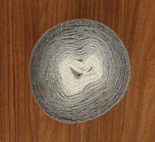 Grey Gradient Glitter Cake 150g Silver Sparkle Yarn wool crochet knitting DK