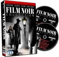 Film Noir Collection DVD Set Humphrey Bogart Crime Detective Show John Garfield