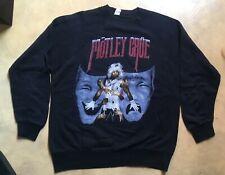 SWEAT SHIRT MOTLEY CRUE THEATRE OF PAIN 1985 VINTAGE BLACK SHIRT