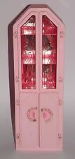 Barbie Vitrine Rose Sweet Roses Wohnwelt Living Pretty Pink Magic 90er Jahre a