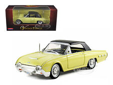1962 FORD THUNDERBIRD YELLOW 1/32 DIECAST MODEL CAR BY ARKO PRODUCTS 06201