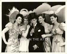 LUCKY GEORGE JESSELL& 4 SEXY CAN CAN SHOWGIRLS ORIG HIGH KICKERS BROADWAY STILL