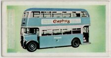 Bradford City Transport Bus England Vintage Trade Ad Card