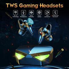 Tws Gaming Headphone Noise Canceling Bluetooth Earphone Sports Earbuds Gamer Mic
