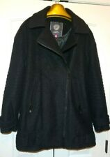 Vince Camuto Women Coats & Jackets M Black Wool With Polyester REDUCED PRICE!!