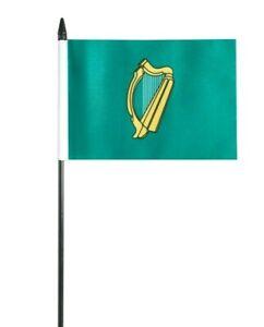 """Leinster Irish Small Hand Waving Flag 6"""" x 4"""""""