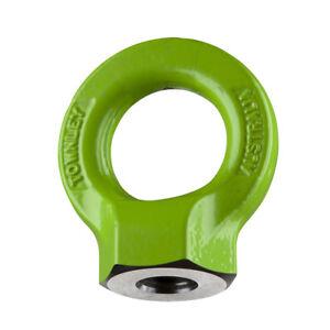 NEW industrial lifting equipment M10 Grade-8 Hi-Tensile Eye Nut: WLL: 1.0 Tonne