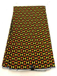 African Wax  Print-African Print Fabric-6 Yards-100%
