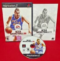 NCAA Basketball 09 - PlayStation 2 PS2 Complete CIB Tested & Working Game
