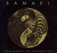 """SAMAEL """"CEREMONY OF OPPOSITES/REBELLION"""" CD RE-RELEASE"""