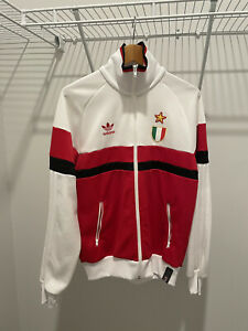 AC Milan Adidas Retro Jacket Full-zip US size Medium