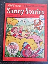 Vintage Sunny Stories Magazine May 23 1955 Malcolm Saville Flower Fairy Cow