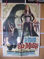 A4191 El millón de ojos de Sumuru Shirley Eaton,  Frankie Avalon,  George Nader,