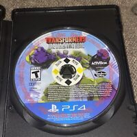 Transformers: Devastation (Sony PlayStation 4, 2015) PS4 Disc Only