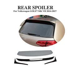 Car Rear Roof Trunk  Spoiler Fit for Volkswagen VW Golf 7 MK7 Non-GTI R 14-17